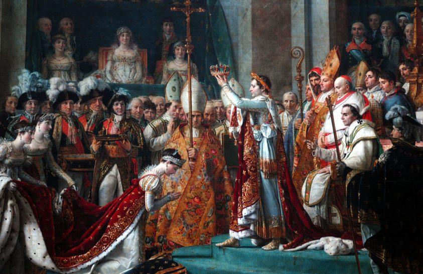 Aukción Napóleon koronájának egyik darabja