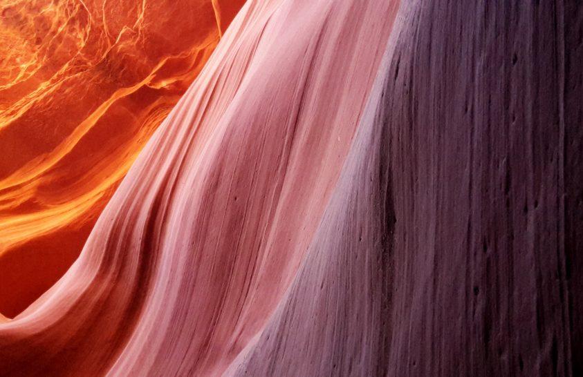 A nap képe: Alsó Antilop-kanyon trikolorja