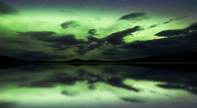 A nap képe: Izlandi fekete felhők