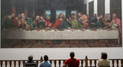 Leonardo belenyúlhatott Az utolsó vacsora másolatába is