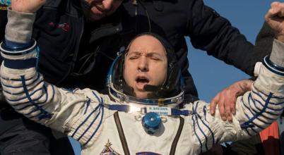 Visszatértek az űrhajósok