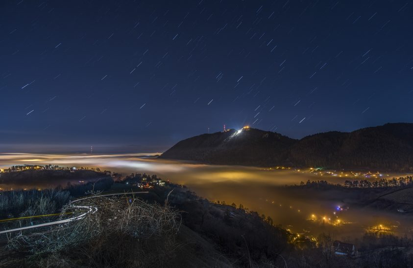 2018. január asztrofotója: Az éjszaka misztikus fényei