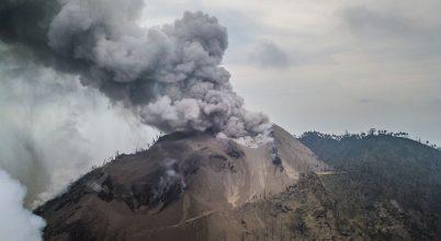 Vulkánkitörések 2018 elején