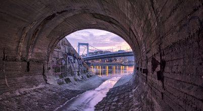 A nap képe: Híd alulnézetből