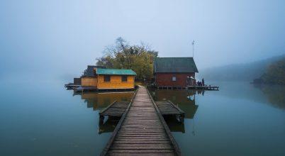 A nap képe: Ködös reggel a tatai Derítő-tónál