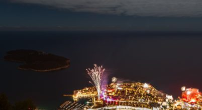 A nap képe: Szilveszteri fényjáték Dubrovnikban