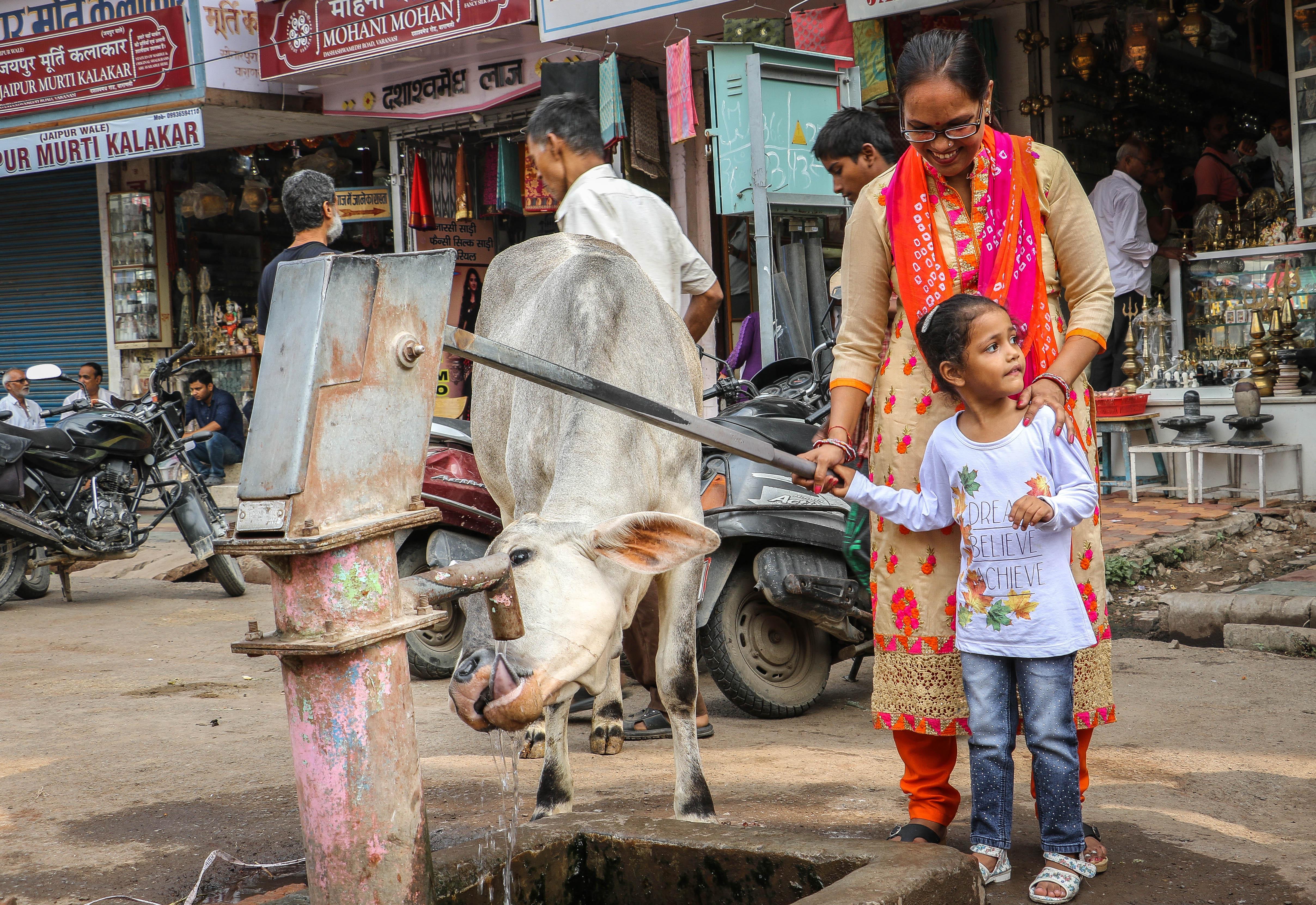 Egyedülálló szülő Indiában