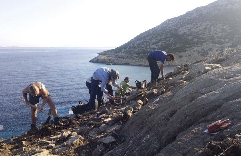 Ókori gazdasági központ működött egy görög szigeten