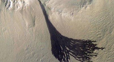 Porlavina a Mars felszínén