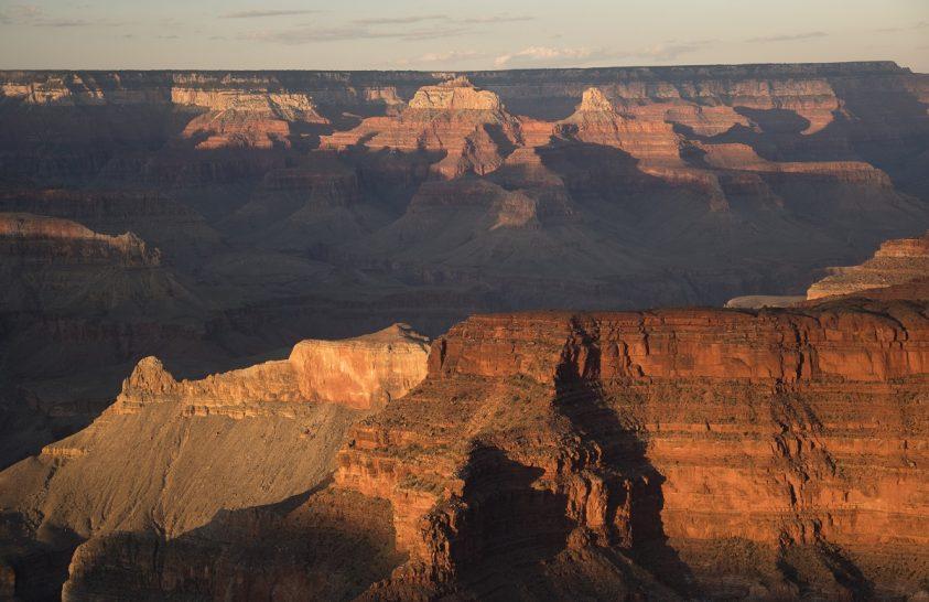 A nap képe: Naplemente a Grand Canyonnál