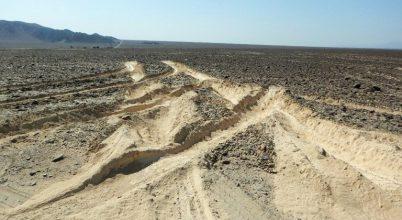 Teherautó rongálta meg a híres Nazca-vonalakat