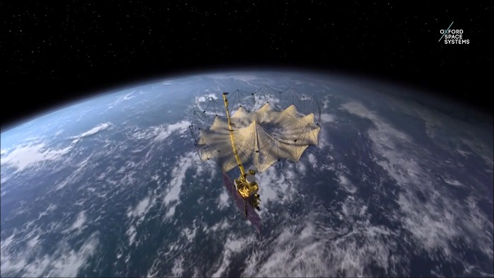 Aranyból kötöttek űreszközt