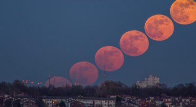 2018. február asztrofotója: Holdkelte Londonban