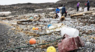 Az Északi-sarkot is veszélyezteti a sok műanyaghulladék