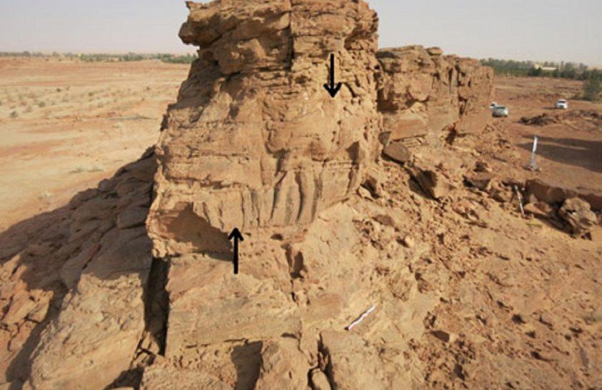 Páratlan sziklafaragványokat találtak Szaúd-Arábiában