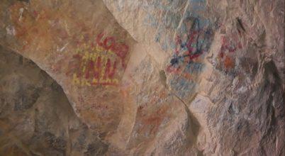 Festékszóróval rongálták meg Chile híres barlangrajzait