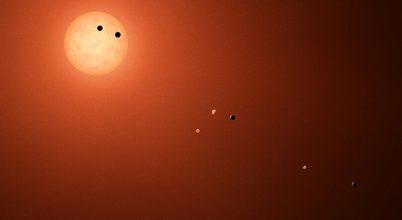 Túl sok víz lehet a TRAPPIST-1 bolygóin