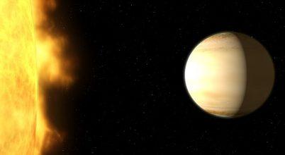 Minden korábbinál részletesebben elemezték egy exobolygó légkörét