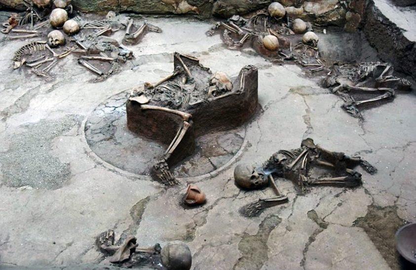 Múzeumot húztak a keleti Pompeii-re
