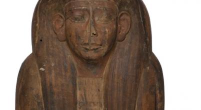 Múmiát találtak az üresnek hitt koporsóban