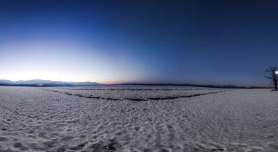 A nap képe: Panoráma a kék órában