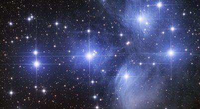 A nap képe: M45, Plejádok a Bika csillagképben
