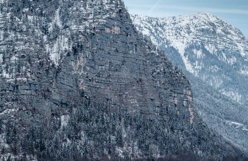 A nap képe: Hallstatti havas hegyek