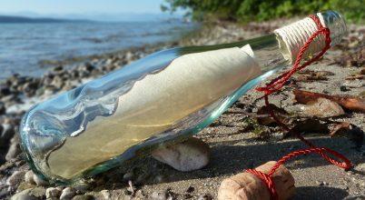 132 éves palackpostát sodort partra az óceán
