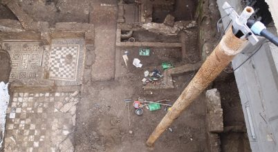 Egy római tiszt pazar otthonára bukkantak az épülő metró alatt