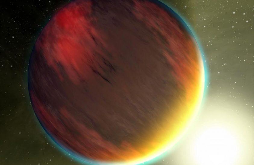 Megtalálták az egyik legsötétebb bolygót