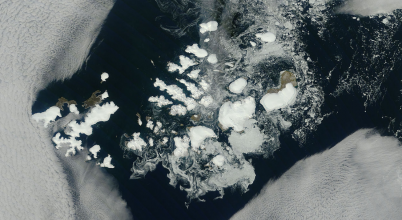 Egyre zsugorodnak az orosz gleccserek is