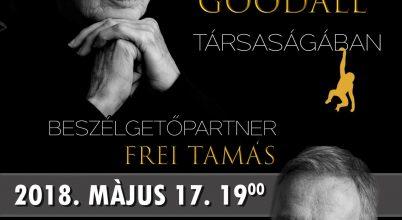 Egy este Jane Goodall társaságában – beszélgetőpartner Frei Tamás