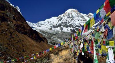 A nap képe: Nepál fenséges csúcsa: Annapurna