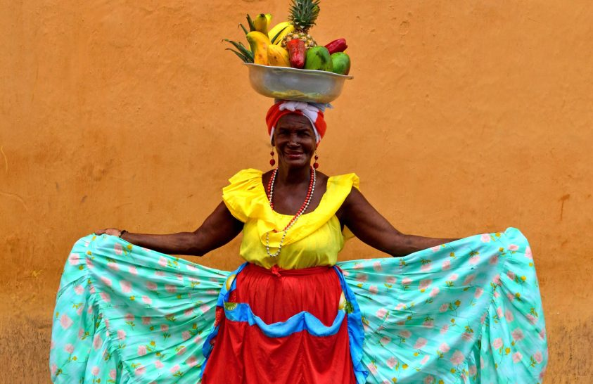 A nap képe: Kolumbiai gyümölcsárus