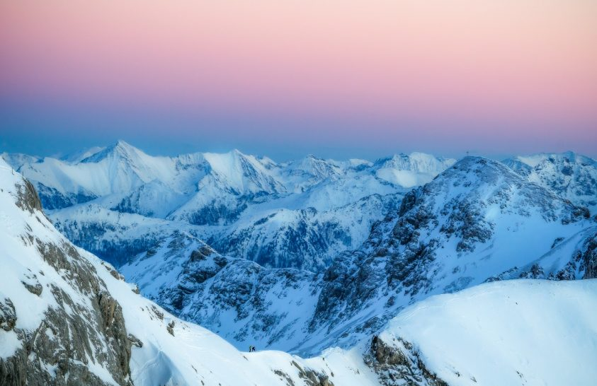 A nap képe: Téli naplemente