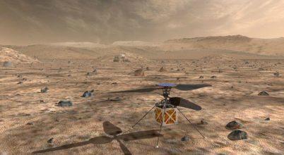 Helikoptert küld a NASA a Marsra