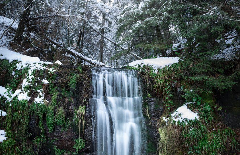A nap képe: Vízesés a Fekete-erdőben