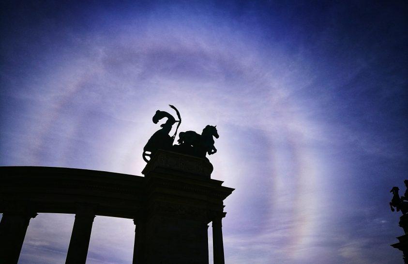 A nap képe: Gúlakristályos naphaló