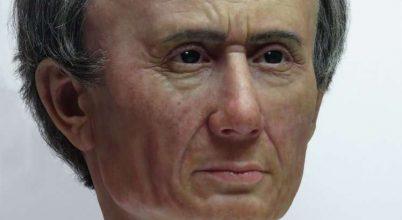 Megelevenedett Julius Caesar arca
