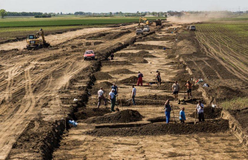 Árpád-kori leletek Békéscsaba közelében