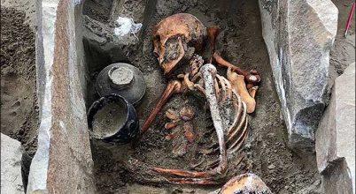 Előkelő hun nő sírjára bukkantak