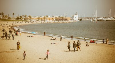 A nap képe: Barcelonai tengerpart