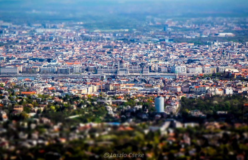 A nap képe: Makettváros