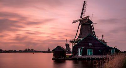 A nap képe: Szélmalmok Hollandiában