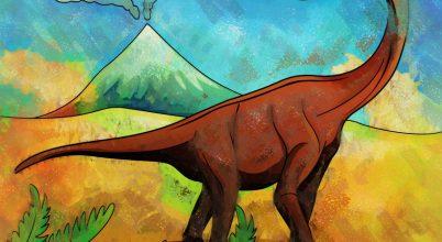 Rekorder dinoszaurusz-lábfejet találtak
