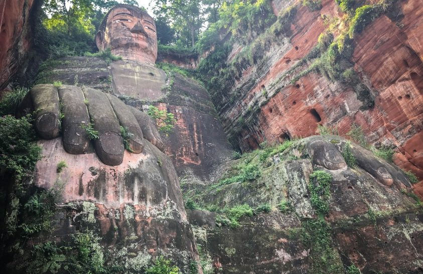 Dafo, a leshani óriás Buddha legendája