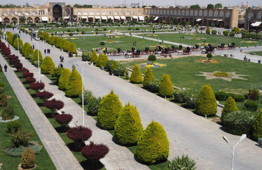 Irán különleges építészeti csodái