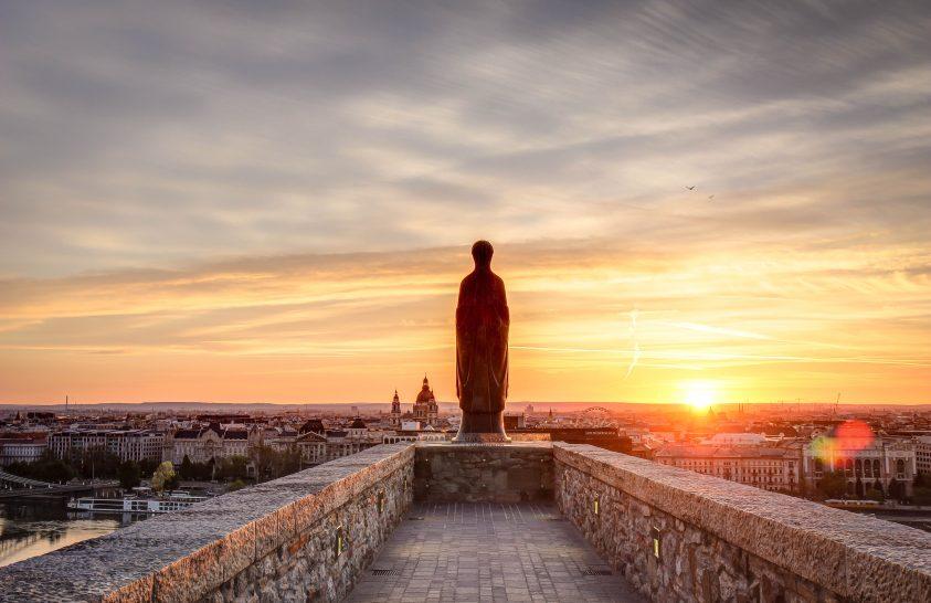 A nap képe: Napfelkelte a budai várból