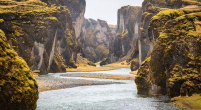 A nap képe: Izlandi kanyon