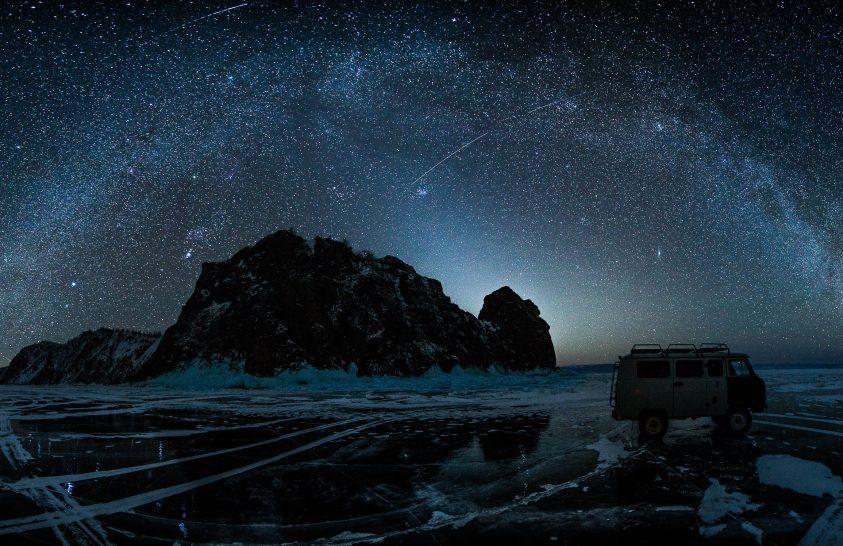 A nap képe: Szibériai éjszakák